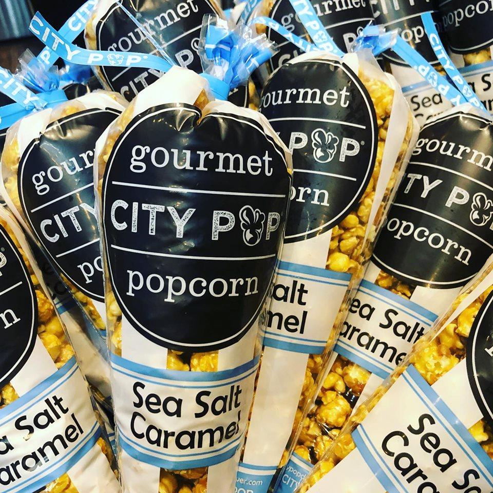 City Pop Gourmet Popcorn