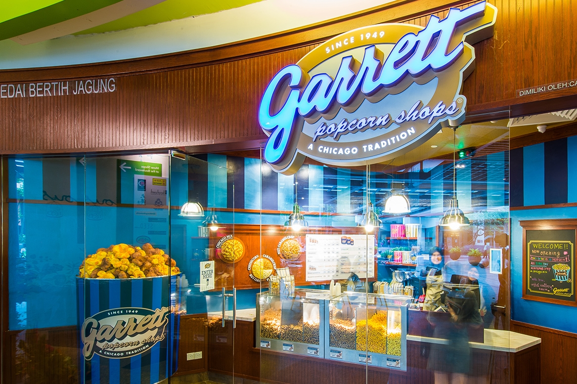 Garrett Popcorn Shops – O'Hare International Airport