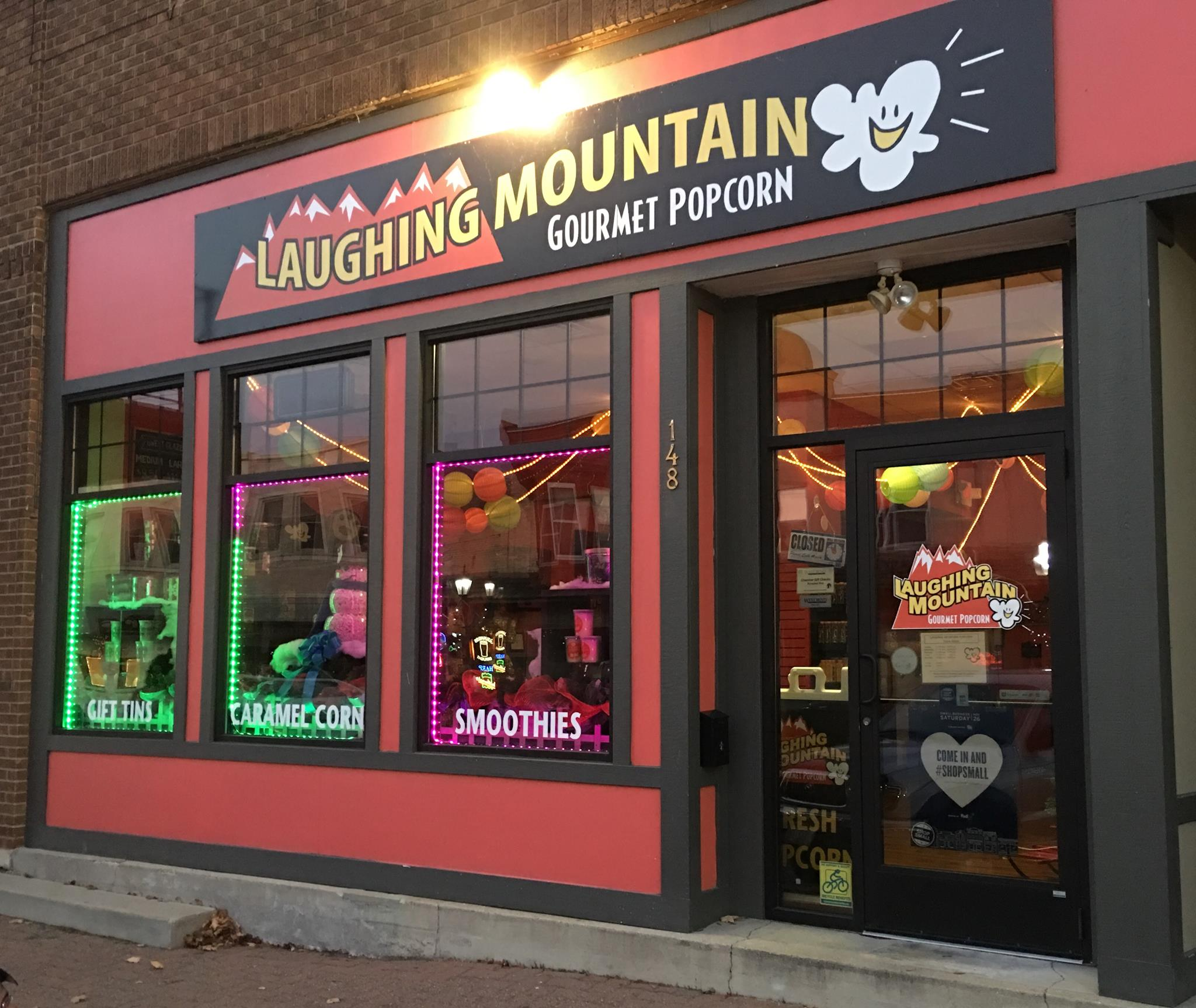 Laughing Mountain Gourmet Popcorn