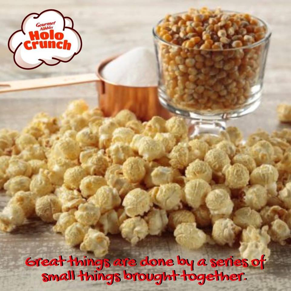 HoloCrunch Popcorn and Nuts